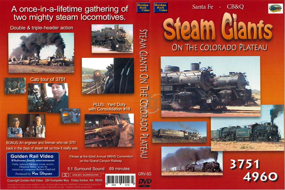 Steam Giants on the Colorado Plateau
