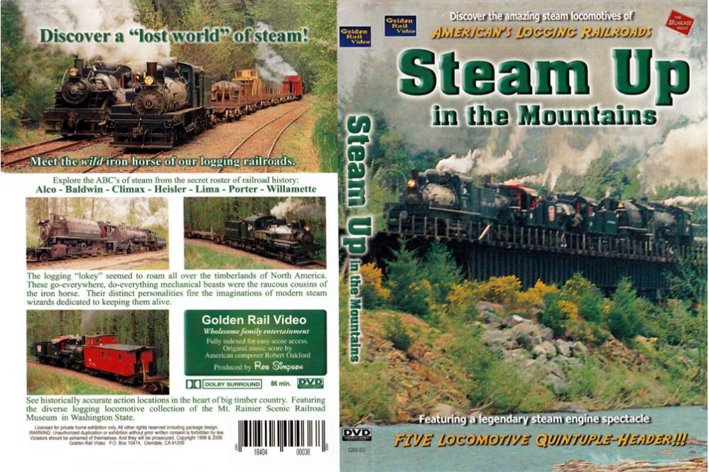 Steam Up in the Mountains
