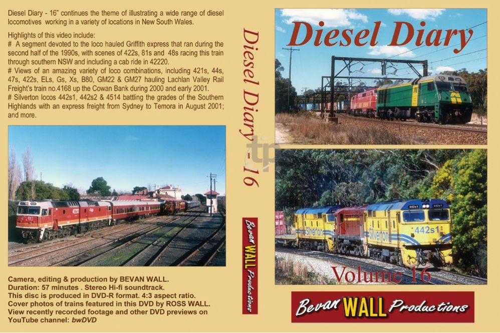Diesel Diary - 16