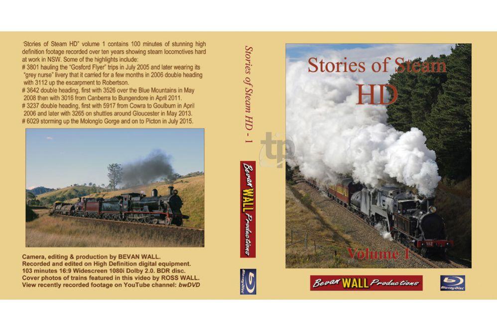 Stories of Steam HD - 01 BLU-RAY