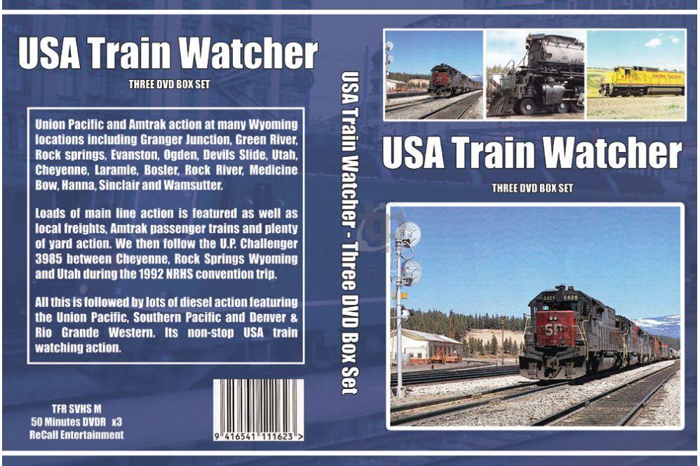 USA Train Watcher