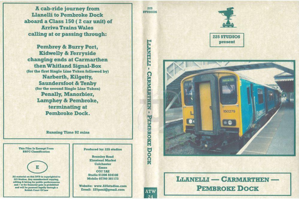 Llanelli – Carmarthen – Pembroke Dock Cab Ride