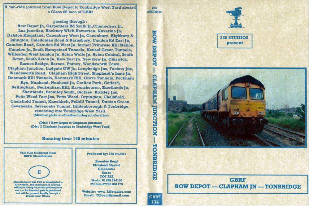 Bow Depot - Clapham Jn - Tonbridge Cab Ride