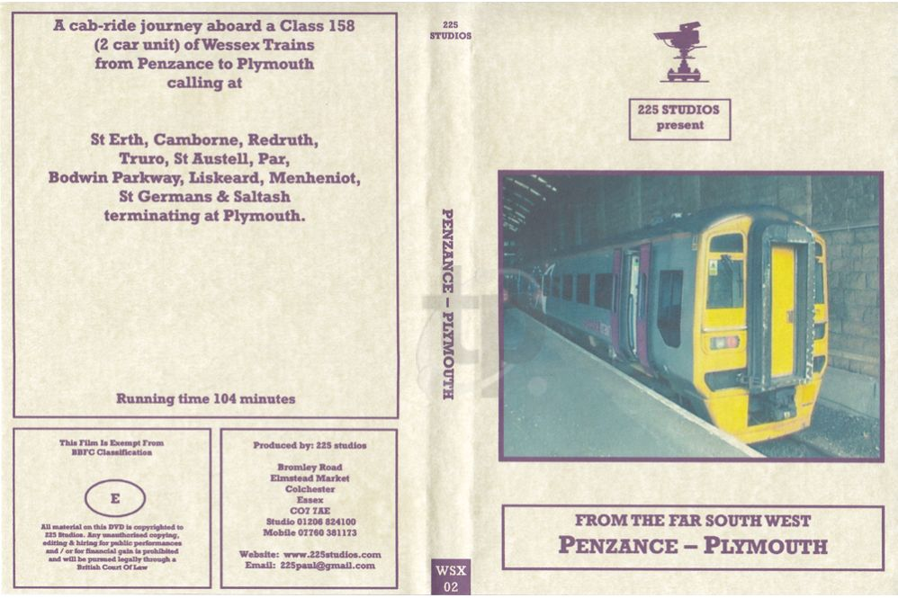 Penzance - Plymouth Cab Ride