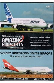 Sydney Kingsford Smith Airport - First Qantas A380 Down Under