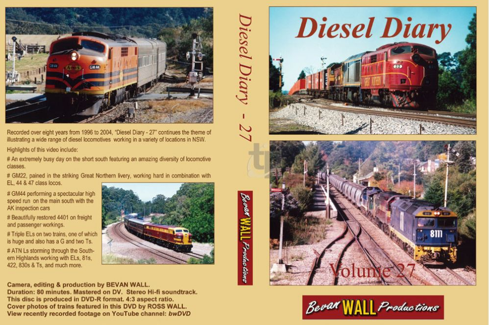 Diesel Diary - 27