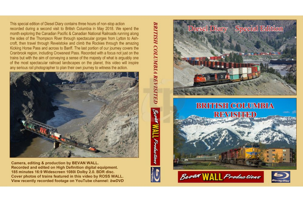 Diesel Diary - British Columbia Revisited BLU-RAY