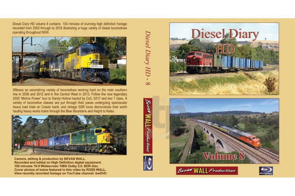 Diesel Diary HD - 08 BLU-RAY