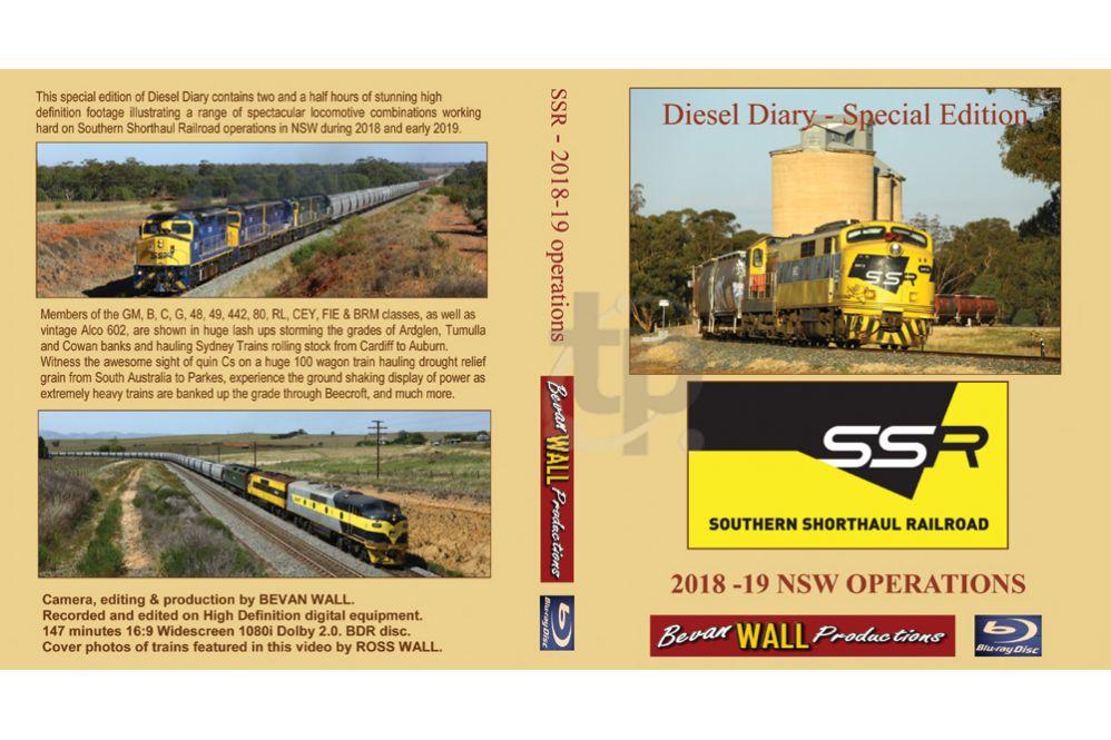 Diesel Diary - SSR 2018-19 BLU-RAY