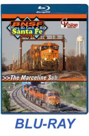 BNSF Along the Route of the Santa Fe - Volume 6 BLU-RAY
