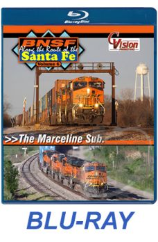 BNSF Along the Route of the Santa Fe Volume 6 BLU-RAY