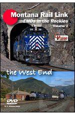 Montana Rail Link - EMDs in the Rockies Volume 2