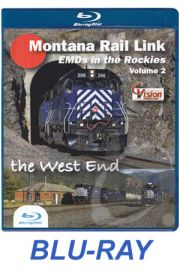 Montana Rail Link - EMDs in the Rockies Volume 2 BLU-RAY