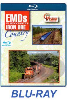 EMDs in Minnesota's Iron Ore Country BLU-RAY