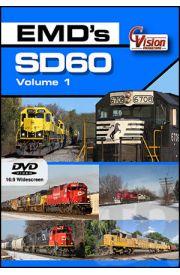 EMDs SD60 - Volume 1