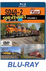 SD40-2 Survivors - Volume 3 BLU-RAY