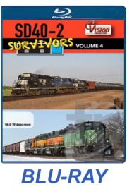 SD40-2 Survivors - Volume 4 BLU-RAY