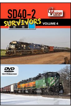 SD40-2 Survivors - Volume 4