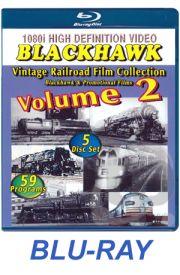 Blackhawk Vintage Railroad Film Collection - Box Set 2 BLU-RAY