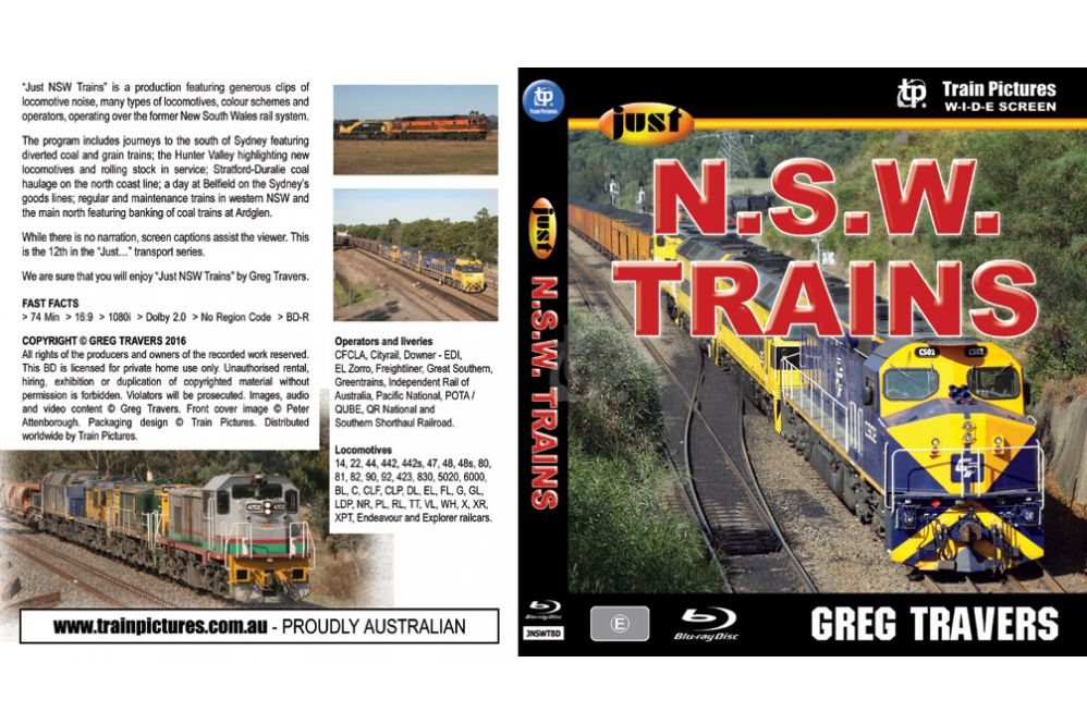 Just NSW Trains BLU-RAY