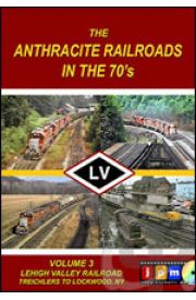Anthracite Railroads of the 70's - Volume 3