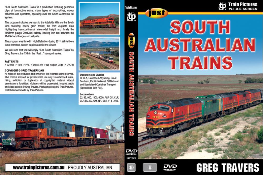 Just South Australian Trains