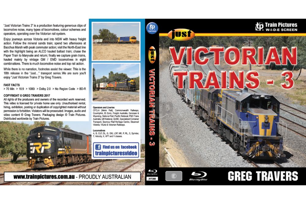 Just Victorian Trains 3 BLU-RAY