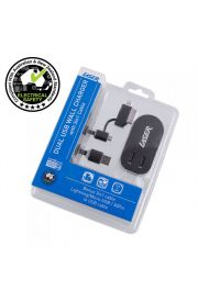 Twin USB AC Wall Charger