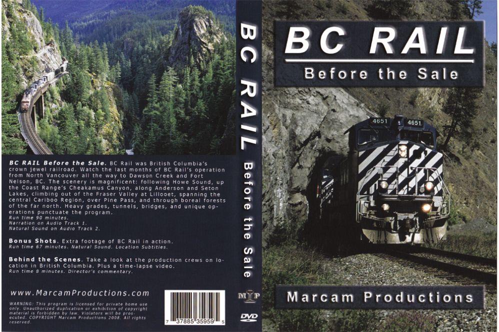 BC Rail Before the Sale