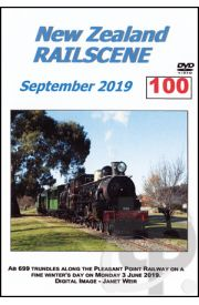 New Zealand Railscene - Volume 100