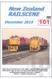 New Zealand Railscene - Volume 101