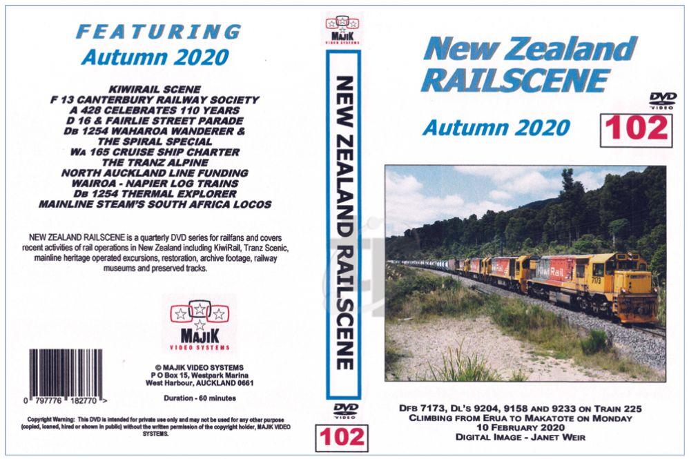New Zealand Railscene - Volume 102