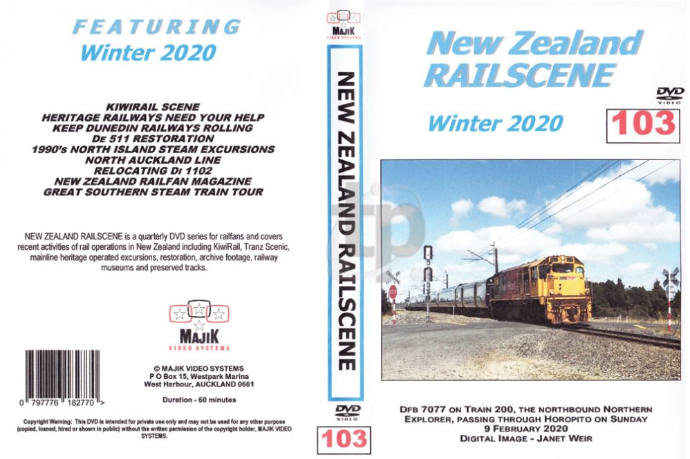 New Zealand Railscene - Volume 103