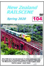 New Zealand Railscene - Volume 104