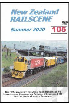 New Zealand Railscene - Volume 105