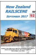 New Zealand Railscene - Volume 92