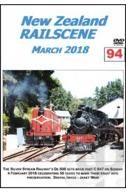 New Zealand Railscene - Volume 94