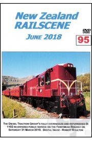 New Zealand Railscene - Volume 95