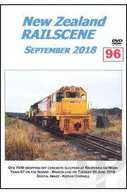 New Zealand Railscene - Volume 96