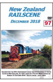 New Zealand Railscene - Volume 97