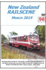 New Zealand Railscene - Volume 99