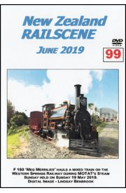 New Zealand Railscene - Volume 99