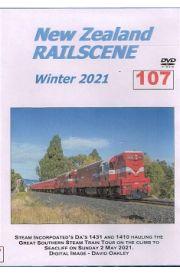 New Zealand Railscene Winter 2021 No 107