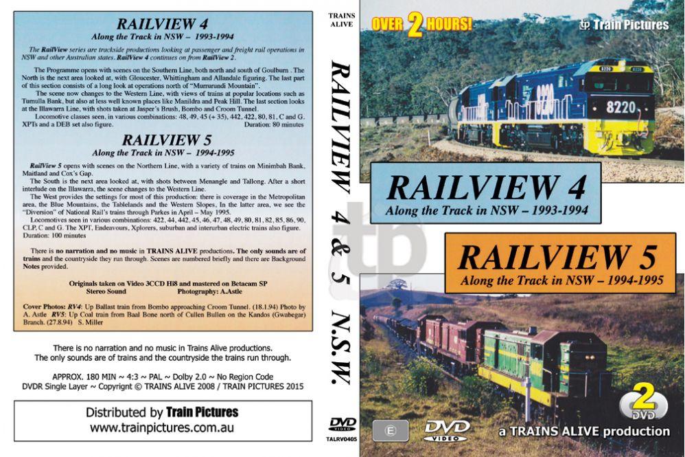 Rail View 4 & 5 - NSW