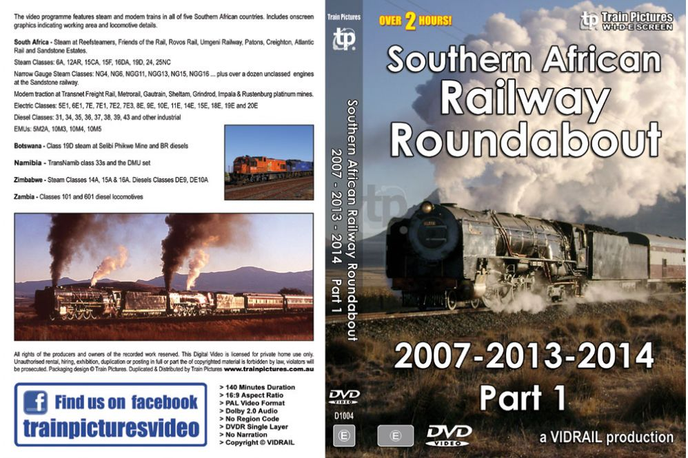 Southern African Railway Roundabout 2007/13/14 - Part 1