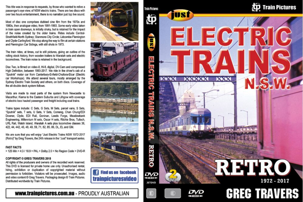 Just Electric Trains NSW - Retro