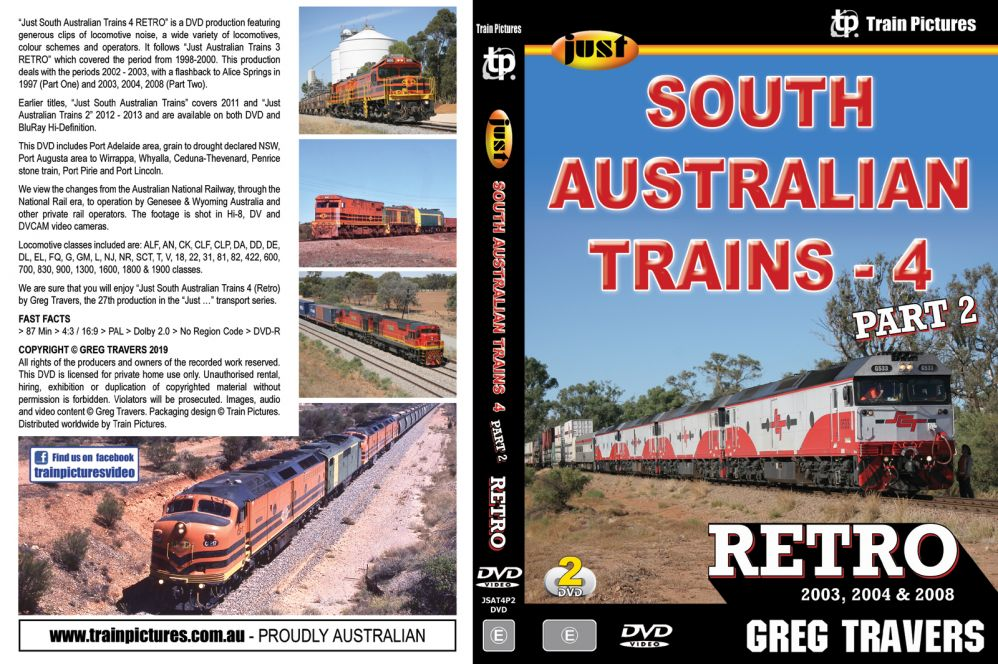Just South Australian Trains 4 - Retro Part 2
