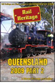 Rail Heritage - Queensland 2009 Part 2  with FREE Bonus Disc