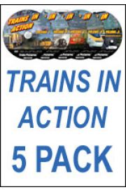 Trains In Action 5 Pack Lite