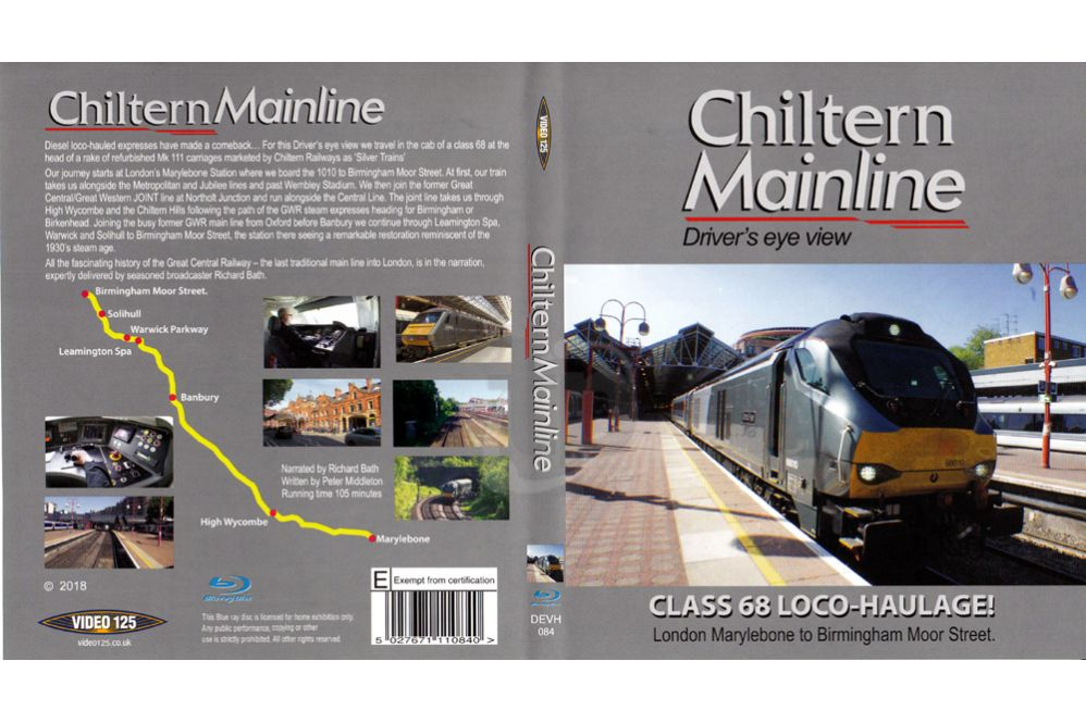 Chiltern Mainline BLU-RAY